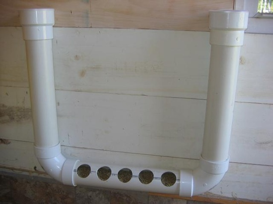 PVC Pipe Chicken feeder