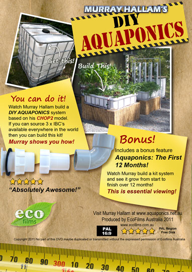 Murray Hallam DIY Aquaponics