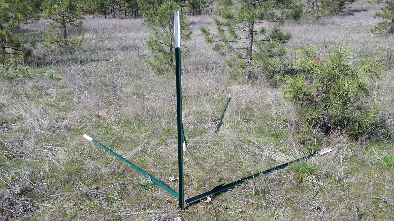 T Post Fence Corners This Happy Homestead